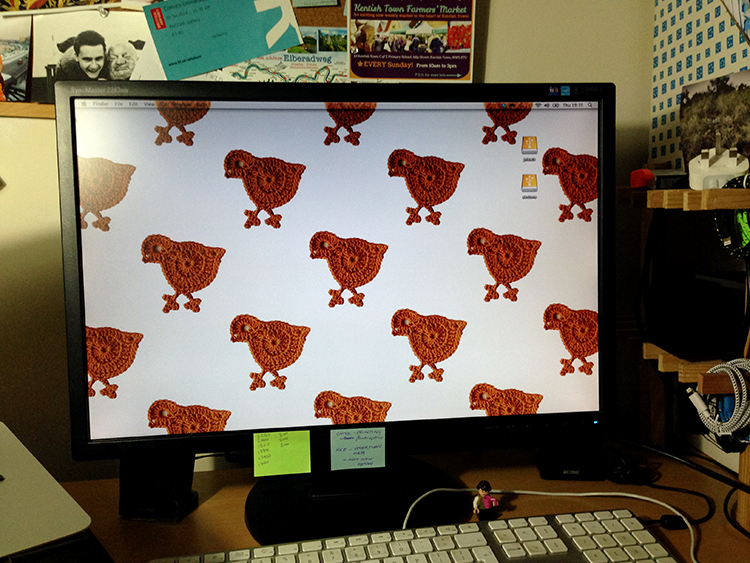 Chickie desktop image