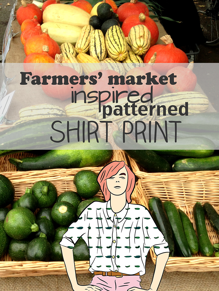 farmers' market inspired shirt pint