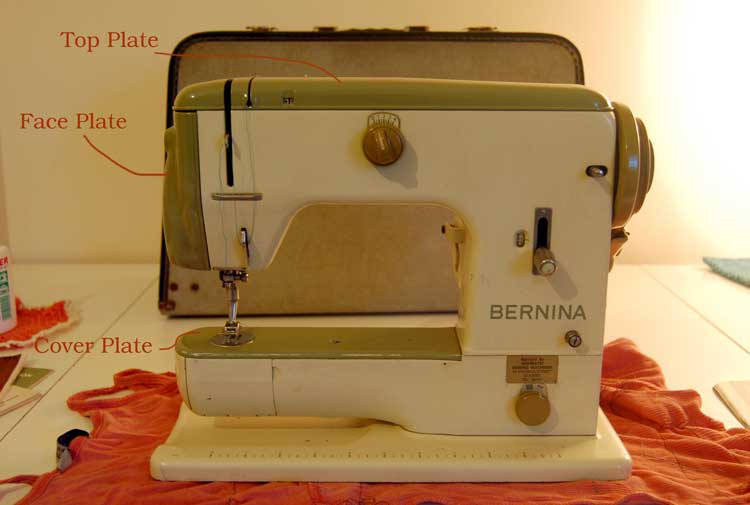 Bernina vintage sewing machine components