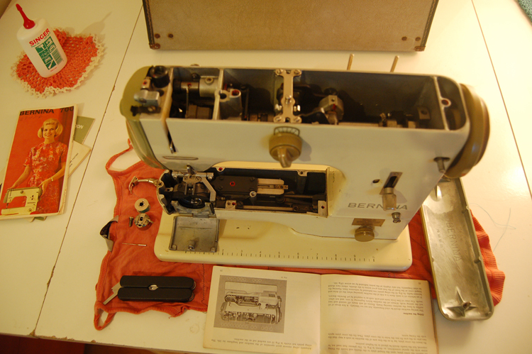 Vintage Bernina internals